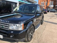 USED 2008 58 LAND ROVER RANGE ROVER SPORT 2.7 TDV6 SPORT HSE 5d AUTO 188 BHP FINANCE AVAILABLE, WARRANTY INCLUDED