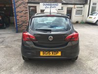 USED 2015 15 VAUXHALL CORSA 1.2 EXCITE AC 3d 69 BHP One Private Owner, Only 21,000 Miles, Full History, Bluetooth, Alloys, Low Insurance Group !!!