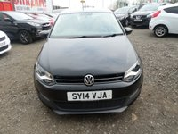 USED 2014 14 VOLKSWAGEN POLO 1.2 MATCH EDITION 3d 69 BHP