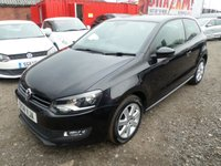 2014 VOLKSWAGEN POLO 1.2 MATCH EDITION 3d 69 BHP £5995.00