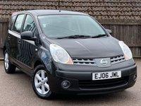 2006 NISSAN NOTE 1.6 SE 5d AUTO 109 BHP £2995.00