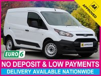 USED 2017 17 FORD TRANSIT CONNECT 1.5 TDCI EURO 6 220 L1H1 PANEL VAN 100 BHP EURO 6 PLYWOOD-LINED AUXILIARY USB SLIDING SIDE DOOR