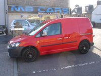 "USED 2011 61 VOLKSWAGEN CADDY 2.0 C20 TDI 1d 138 BHP 2 FORMER OWNERS,ONLY 61000 MILES FROM NEW,""NO VAT"""
