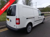 USED 2015 64 VOLKSWAGEN CADDY MAXI 1.6 C20 TDI STARTLINE BLUEMOTION TECHNOLOGY 1d 101 BHP ONE OWNER FROM NEW TWO KEYS SERVICE HISTORY MOT FEBRUARY 2020