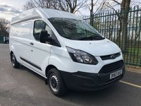 USED 2017 67 FORD TRANSIT CUSTOM 2.0 310 HR P/V 1d 129 BHP All Vehicles with minimum 6 months Warranty, Van Ninja Health Check and cannot be beaten on price!