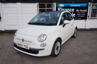 USED 2011 60 FIAT 500 1.2 LOUNGE 3d 69 BHP 1 OWNER -FSH-PAN ROOF 1 Owner, Full Service History, Pan Roof, Blue-me USB,