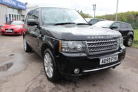 USED 2009 59 LAND ROVER RANGE ROVER 3.6 TDV8 AUTOBIOGRAPHY 5d AUTO 271 BHP