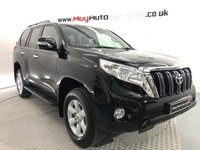 2016 TOYOTA LAND CRUISER 2.8 D-4D ACTIVE 5d AUTO 175 BHP 7 SEATS *LOW MILES* £27995.00