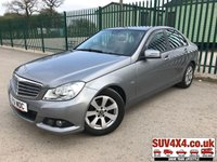 USED 2011 61 MERCEDES-BENZ C CLASS 1.8 C180 BLUEEFFICIENCY SE EDITION 125 4d 156 BHP SAT NAV LOW MILEAGE CRUISE MOT 10/19 SATELLITE NAVIGATION. STUNNING SILVER MET WITH BLACK CLOTH TRIM. CRUISE CONTROL. 16 INCH ALLOYS. COLOUR CODED TRIMS. PARKING SENSORS. BLUETOOTH PREP. CLIMATE CONTROL. R/CD PLAYER. MFSW. MOT 10/19. ONE PREV OWNER. SERVICE HISTORY. SUV & 4X4 CAR CENTRE LS23 7FR. TEL 01937 849492. OPTION 2