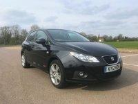 2012 SEAT IBIZA 1.4 SE COPA 5d 85 BHP £5795.00
