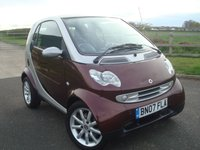 2007 SMART FORTWO 0.7 PASSION SOFTOUCH 2d AUTO 61 BHP £1795.00