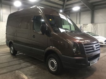 2014 VOLKSWAGEN CRAFTER 2.0TDI CR35 MWB HIGH ROOF LOW 35,000 MILES. SENSORS. RARE £12990.00