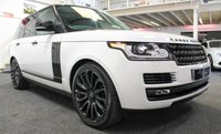 "USED 2016 16 LAND ROVER RANGE ROVER 3.0 TDV6 VOGUE 5d AUTO 255 BHP *BLACK DESIGN PACK+22"" ALLOYS*"