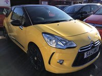 USED 2012 12 CITROEN DS3 1.6 E-HDI DSTYLE PLUS 3d 90 BHP Ds3 diesel, great value, free road, superb economy, stylish looks.