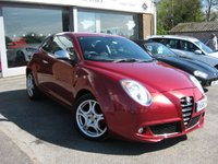 USED 2010 60 ALFA ROMEO MITO 1.4 VELOCE 16V 3d 95 BHP One owner from new. Full Alfa service history. Metallic Red Full Black Leather. Parking sensors