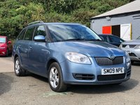 USED 2009 09 SKODA FABIA 1.6 2 16V TIPTRONIC 5d AUTO 103 BHP 1 PREVIOUS KEEPER *  FULL YEAR MOT +   SERVICE RECORD +  ALLOY WHEELS *