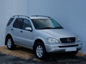 2004 MERCEDES-BENZ M CLASS 2.7 ML270 CDI 5d AUTO 163 BHP £2999.00