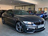 USED 2014 BMW 4 SERIES 3.0 430D M SPORT 2d AUTO 255 BHP M PERFORMANCE STYLING+SAT NAV