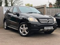 USED 2007 07 MERCEDES-BENZ M CLASS 3.0 ML280 CDI EDITION S 5d AUTO 188 BHP
