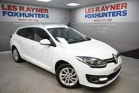 USED 2015 15 RENAULT MEGANE 1.5 EXPRESSION PLUS ENERGY DCI S/S 5d 110 BHP Free Road tax, Bluetooth, Cruise control, Privacy Glass, Park sensors