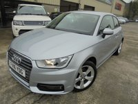 USED 2016 16 AUDI A1 1.6 TDI SPORT 3d 114 BHP Superb Premium City Car, Excellent Condition, Great Economy, No Fee Finance, No Deposit Necessary