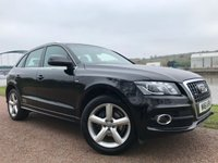 USED 2011 61 AUDI Q5 2.0 TDI QUATTRO DPF S LINE 5d 168 BHP **FULL LEATHER UPHOLSTERY**