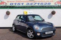 2009 MINI HATCH COOPER 1.6 COOPER D 3d 108 BHP £4500.00