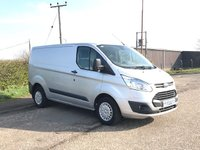 2014 FORD TRANSIT CUSTOM 2.2 270 TREND LR P/V 1d 124 BHP £9995.00