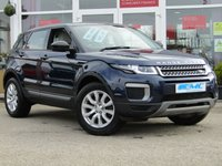 USED 2015 65 LAND ROVER RANGE ROVER EVOQUE 2.0 TD4 SE 5d 177 BHP STUNNING, 1 OWNER, LOW MILEAGE 4X4 RANGE ROVER EVOQUE 2.0 TD4 SE 180 BHP. Finished in LOIRE BLUE METALLIC with contrasting LIGHT GREY HEATED ELECTRIC SEATS. This stylish, high tech, great looking, Fun to drive and comfortable SUV has features which include, SAT NAV, DAB, HEATED LEATHER, POWER REAR BOOT, B/TOOTH and much more. This 1 privately owned Evoque has been serviced at Hatfields Land Rover Liverpool.