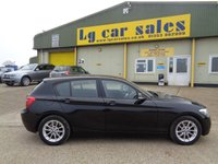 2014 BMW 1 SERIES 1.6 116D EFFICIENTDYNAMICS 5d 114 BHP £9295.00