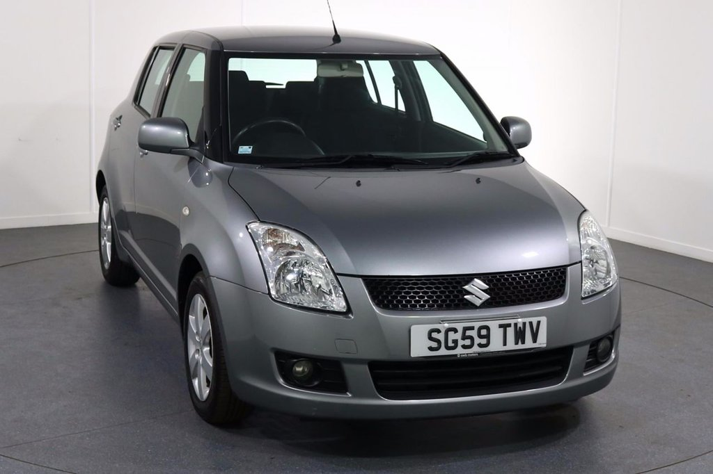 USED 2009 59 SUZUKI SWIFT 1.5 GLX 5d 100 BHP ONE OWNER From New with 9 Stamp SERVICE HISTORY