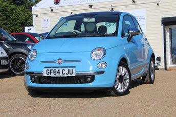 2014 FIAT 500 0.9 TWINAIR LOUNGE 3d 105 BHP £6495.00