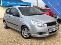 USED 2010 60 CHEVROLET AVEO 1.2 S 3d 83 BHP Long MOT Until June 2020