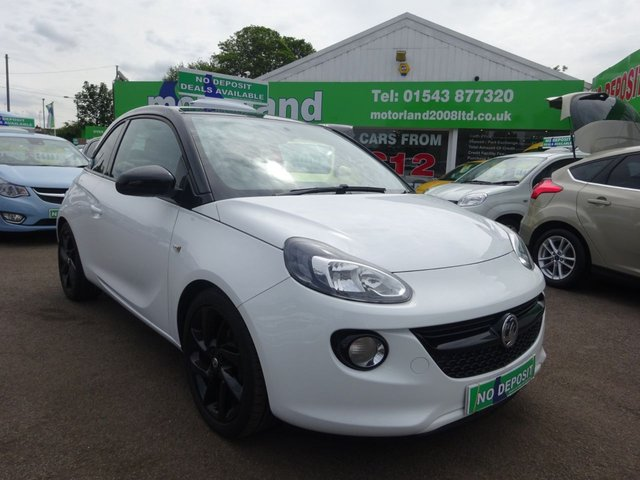 USED 2017 17 VAUXHALL ADAM 1.2 ENERGISED 3d 69 BHP ** 01543 877320 ** JUST ARRIVED