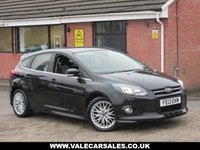 USED 2013 07 FORD FOCUS 1.6 TDCI ZETEC S (LOW MILEAGE+BLUETOOTH) 5dr LOW MILEAGE AND £30 A YEAR TAX