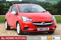 USED 2015 65 VAUXHALL CORSA 1.2 STING 3d 69 BHP LOW INSURANCE GROUP JUST 26,000 MILES