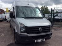 USED 2017 17 VOLKSWAGEN CRAFTER LWB 2.0 CR35 TDI L BMT 138 BHP 1 OWNER FSH AIR CON CRUISE PDC  MANUFACTURERS WARRANTY AIR CONDITIONING CRUISE CONTROL FRONT AND REAR PARKING SENSORS EURO 6 SPARE KEY ELECTRIC WINDOWS AND MIRRORS BLUETOOTH 6 SPEED