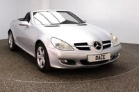 USED 2005 05 MERCEDES-BENZ SLK 1.8 SLK200 KOMPRESSOR 2 DOOR AUTO LEATHER LEATHER SEATS + CRUISE CONTROL + MULTI FUNCTION WHEEL + CLIMATE CONTROL + RADIO/CD + ELECTRIC WINDOWS + ELECTRIC MIRRORS + 16 INCH ALLOY WHEELS