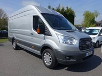 USED 2019 19 FORD TRANSIT 350  TREND L4  EX LWB HIGHTOP 2.0TDCI 170PS In Stock Now - High Specification Trend Model With Additional Air Con, 170 Ps Engine, LED Load Lights And Power Convertor, Good Saving On Ford List Price!