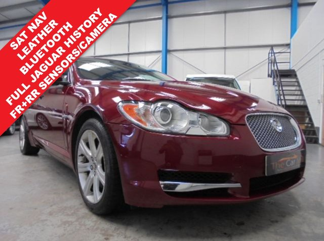 2010 60 JAGUAR XF 3.0 V6 LUXURY 4d AUTO 240 BHP