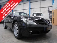 """USED 2007 57 MERCEDES-BENZ SLK 1.8 SLK200 KOMPRESSOR 2d AUTO 161 BHP Comprehensive 8 Stamp Service History, Black Leather Seats, Rear Parking Sensors, Auto Lights, Dual Zone Climate Control, Cruise Control with Speed Limiter, Xenons, Remote Locking with 2 Keys, 16"""" Alloys"""