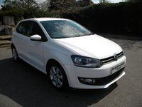 USED 2011 61 VOLKSWAGEN POLO 1.2 MATCH 5d 59 BHP Full Service History!