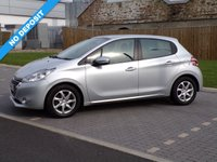 USED 2014 14 PEUGEOT 208 1.2 ACTIVE 5d 82 BHP