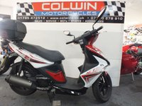 USED 2017 66 KYMCO SUPER 8 125cc SUPER 8 125  LEARNER LEGAL SCOOTER!!!