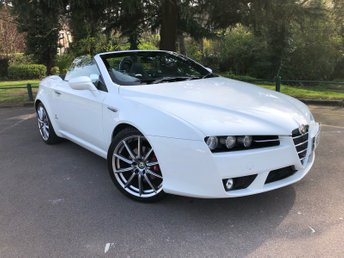 2008 ALFA ROMEO SPIDER 2.2 JTS LIMITED EDITION 2d 185 BHP £11990.00