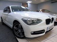 2014 BMW 1 SERIES 1.6 116I SPORT 5d 135 BHP £9495.00