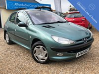 USED 2001 PEUGEOT 206 1.4 GLX 5d AUTOMATIC Low Mileage Automatic - MOT May 2020