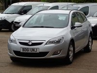 2012 VAUXHALL ASTRA 1.6 EXCLUSIV 5d 113 BHP