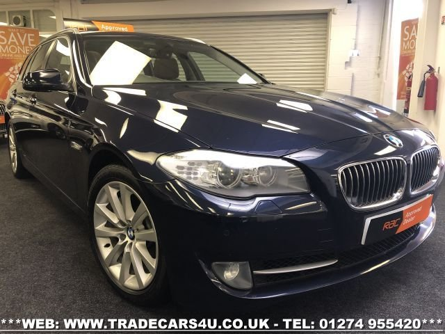 2011 61 BMW 5-SERIES BMW 535D SE TOURING 8 SPEED AUTO DIESEL ESTATE