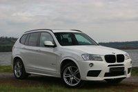 2011 BMW X3 3.0 XDRIVE30D M SPORT 5d AUTO 255 BHP £14990.00
